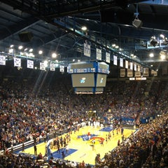 Photo taken at Allen Fieldhouse by Ryan S. on 12/16/2012