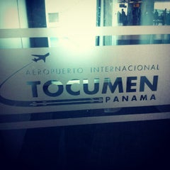 Photo taken at Aeropuerto Internacional de Tocumen (PTY) by Giancarlo M. on 12/17/2012