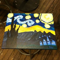 Photo taken at Sipping N' Painting by Kristin L. on 3/23/2014