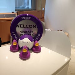 Photo taken at Yahoo! France by Nathalie H. on 7/10/2014