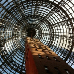 Photo taken at Melbourne Central by Jin O. on 11/17/2012