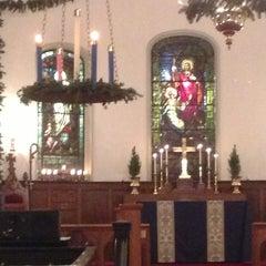 Photo taken at St. John's Church by Steve Dickerson on 12/14/2012