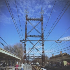 Photo taken at Metro North - Westport Train Station by Dan N. on 3/8/2014