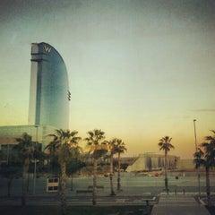 Das Foto wurde bei W Barcelona von Carlos G. am 2/4/2013 aufgenommen