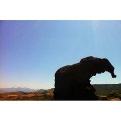 Photo taken at Roccia Dell'elefante by Nicola C. on 7/2/2013
