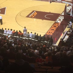 Photo taken at Cassell Coliseum by Tina D. on 11/20/2014