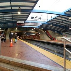 Photo taken at West Portal MUNI Metro Station by Plinio F. on 12/22/2012
