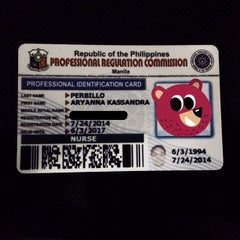 Photo taken at Professional Regulation Commission (PRC - Iloilo) by Yani P. on 7/24/2014
