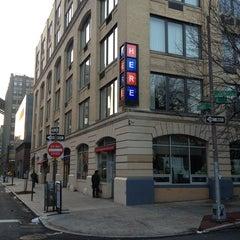 Photo taken at HERE Arts Center by Jenny K. on 3/19/2013
