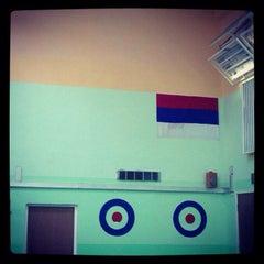 Photo taken at Школа №2016 by ©Sofiya E. on 4/26/2014