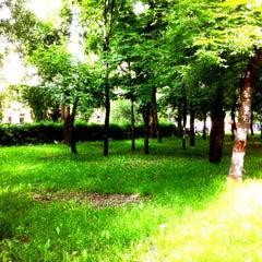 Photo taken at Скверик на Васильківській by Лариса Г. on 5/28/2014