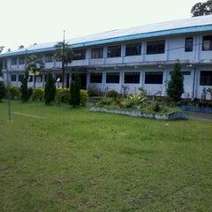 Photo taken at Universitas Kristen Indonesia Tomohon (UKIT) by Rio R. on 11/18/2012