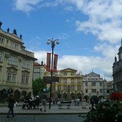 Photo taken at Malostranské náměstí by Артем О. on 7/12/2013
