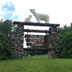 Photo taken at Polar Caves Park by Bill C. on 7/27/2014
