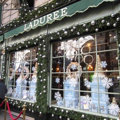 Photo taken at Ladurée by Bea C. on 12/28/2012