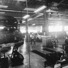 Photo taken at Toyota North Edsa by Gian U. on 3/3/2015
