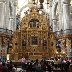 Photo taken at Catedral Metropolitana de la Asunción de María by Argelia P. on 3/28/2013