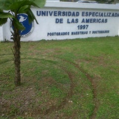 Photo taken at Universidad Especializada de las Américas (UDELAS) by Omar M. on 8/7/2013