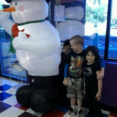 Photo taken at Pump It Up by Amy J. on 12/4/2011