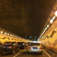 Photo taken at Jalan Tun Razak Tunnel by NAQSZADA on 11/27/2014