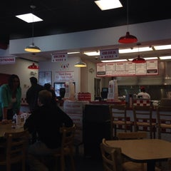 Photo taken at Five Guys by Scott W. on 9/28/2013