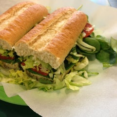 Photo taken at Campus Sub Shop by Daniel B. on 2/27/2013