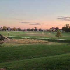 Photo taken at Patterson Park by Myke @. on 10/21/2012