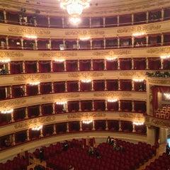 Photo taken at Teatro alla Scala by Hakan S. on 2/17/2013