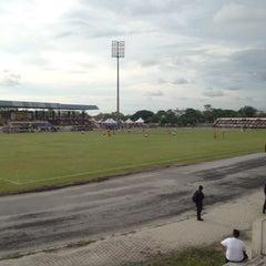 Photo taken at Stadium Sungai Besar by iampejal on 11/20/2015