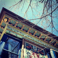 Photo taken at Dushanbe Teahouse by Heidi H. on 4/27/2013