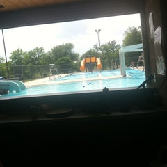 Photo taken at Northwood Pool by Katherine S. on 6/3/2013