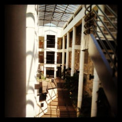 Photo taken at Pamplin Hall by Amy K. on 4/16/2013