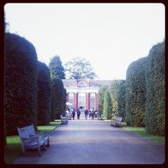 Photo taken at Orangery at Kensington Palace by Chiara A. on 9/30/2013