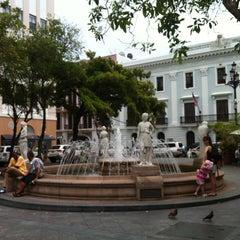 Photo taken at Plaza De Armas by Jose T R. on 5/6/2013