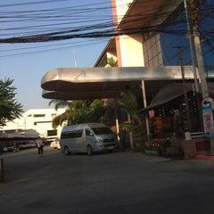 Photo taken at โรงแรมคิมซิตี้ (Hotel Kim City Lampang) by Khongsak T. on 3/22/2016