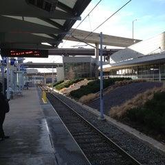 Photo taken at MetroLink - Civic Center Station by Devin C. on 1/12/2013