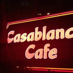Photo taken at Casablanca Cafe by Kim S. on 10/19/2012