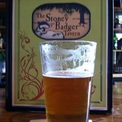 Photo taken at Stoney Badger Tavern by Brewer S. on 9/6/2014