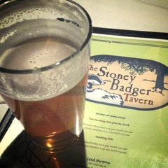 Photo taken at Stoney Badger Tavern by Brewer S. on 2/19/2015