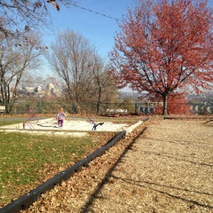 Photo taken at Negley Park by Stephanie S. on 11/10/2014