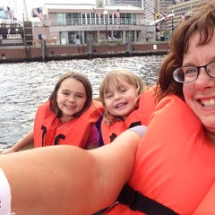 Photo taken at Inner Harbor Paddle Boat Dock by Stephanie S. on 8/18/2015