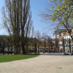 Photo taken at Am Frauenplan by Kristian D. on 4/26/2013