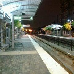 Photo taken at Baylor Medical Center Station (DART Rail) by John U. on 10/17/2012