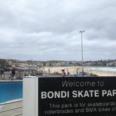 Photo taken at Bondi Skatepark by DooLee P. on 1/2/2013