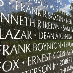 Photo taken at Vietnam Veterans Memorial by Joanna A. on 10/5/2012