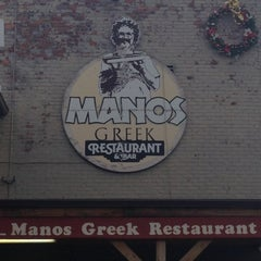 Photo taken at Manos by Shannon L. on 12/10/2012