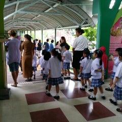 Photo taken at โรงเรียนแย้มสอาดรังสิต (Yamsaard Rangsit School) by Sarawut P. on 7/9/2015
