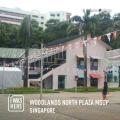 Photo taken at Woodlands North Plaza by Kyle ك. on 8/20/2014
