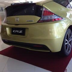 Photo taken at Honda Cars Global City by Christine E. on 10/21/2013