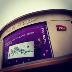 Photo taken at Gare SNCF de Dijon Ville by Cedric M. on 1/7/2013